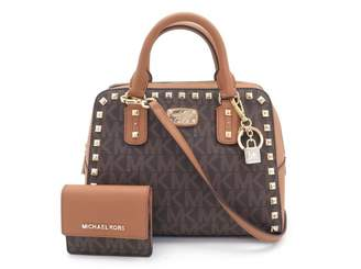 Michael Kors Brown Cloth Handbag