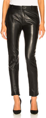 Nili Lotan Leather East Hampton Pant
