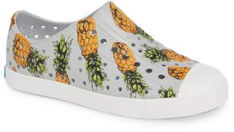 Native Jefferson Pineapple Print Water Friendly Vegan Sneaker