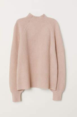 H&M Rib-knit Cashmere Sweater - Orange