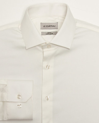 Le Château Stretch Sateen Slim Fit Shirt