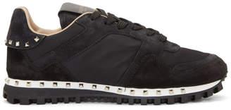 Valentino Black Garavani Rockstud Sneakers