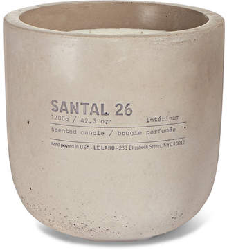 Le Labo Santal 26 Scented Candle, 1200g - Colorless