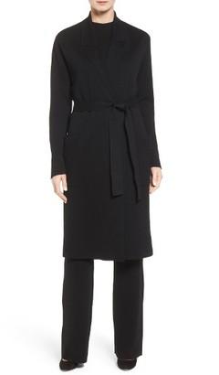 Women's Boss Fasilena Long Wool Cardigan $545 thestylecure.com