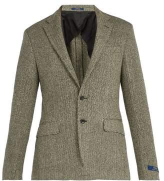 Polo Ralph Lauren - Herringbone Wool Blend Blazer - Mens - Black Multi