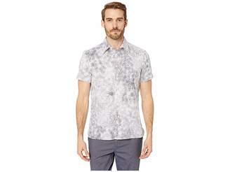 Perry Ellis Regular Fit Stretch Splatter Print Shirt
