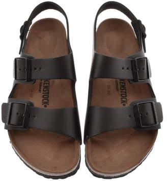 64f9e89bb052 Birkenstock Black Leather Shoes For Men - ShopStyle UK