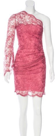 Emilio Pucci Emilio Pucci Lace One-Shoulder Dress