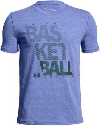Under Armour Big Boys Basketball-Print T-Shirt