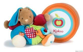 Kaloo Apple Rabbit Stuffed Animal