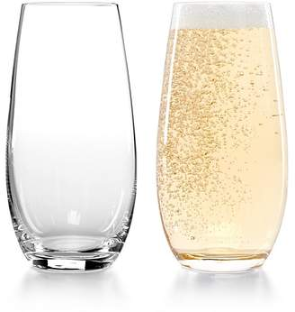 Riedel Stemless O Champagne Glass, Set of 2