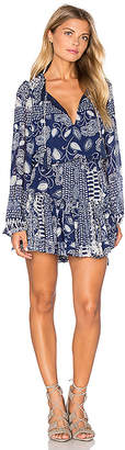 MISA Los Angeles Lorena Dress in Blue $215 thestylecure.com
