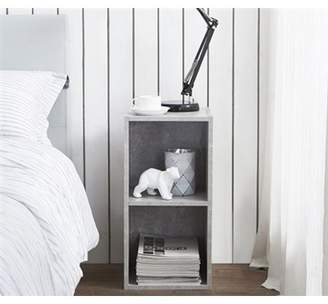 DormCo The Cube - Nightstand - Marble Gray