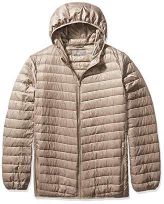 The Plus Project Men's Light Down Jacket with Hood