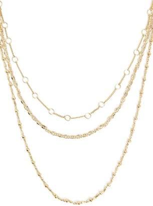 Forever 21 Etched Necklace Set