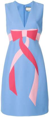 Gucci Bow intarsia dress