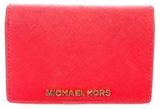 MICHAEL Michael Kors Leather Compact Wallet