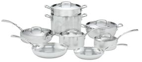 CuisinartStainless Steel Cookware Set (13 PC)