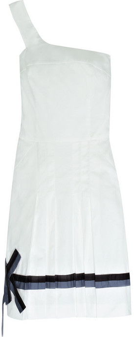 K Karl Lagerfeld Jacinta K stretch-cotton dress