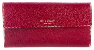 Kate Spade Kate Spade New York Grained Leather Wallet