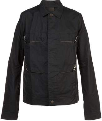 Y/Project Y / Project oiled utility pocket jacket