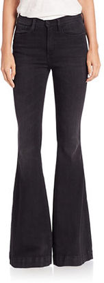 Buffalo David Bitton Textured Flared Jeans $99 thestylecure.com