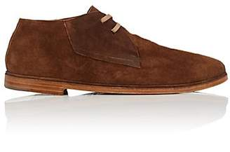 Elia Maurizi Men's Suede Chukka Boots - Brown