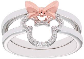 b871de8223a76 DISNEY CLASSICS Disney Classics 1 10 CT. T.W. Genuine Diamond 14K Rose Gold  Over