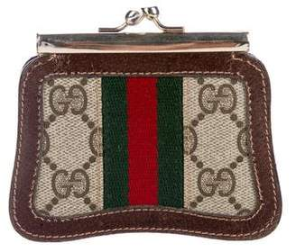 Gucci Vintage GG Plus Coin Purse