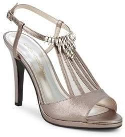 Caparros Ohara Embellished Leather Heels