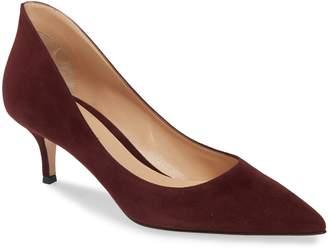 a12b8b42b4c Red Kitten Heel Pumps - ShopStyle