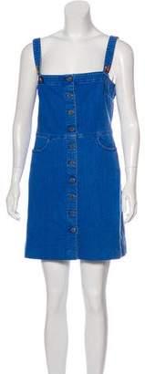 Stella McCartney Denim Embroidered Dress