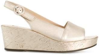 Högl buckle strap wedge sandals