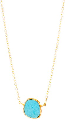 Christina Greene Delicate Necklace in Turquoise