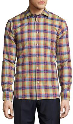 Robert Talbott Men's Crespi Casual Button-Front Sportshirt