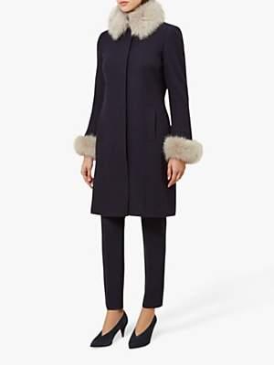 Hobbs Maryanne Coat, Navy