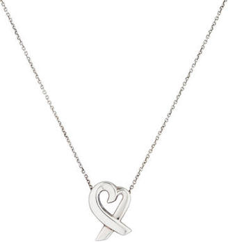 Tiffany & Co. Loving Heart Pendant Necklace $75 thestylecure.com