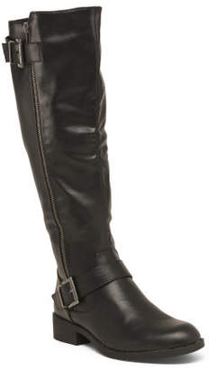 Two Buckle High Shaft Riding Boots