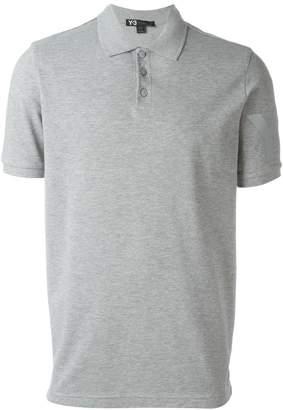 Y-3 logo polo shirt
