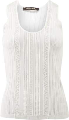 Roberto Cavalli Scoop Neck Tank