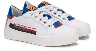 Iceberg Kids lace-up sneakers