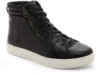 Andrew Marc Black & White Remsen High Top Sneakers
