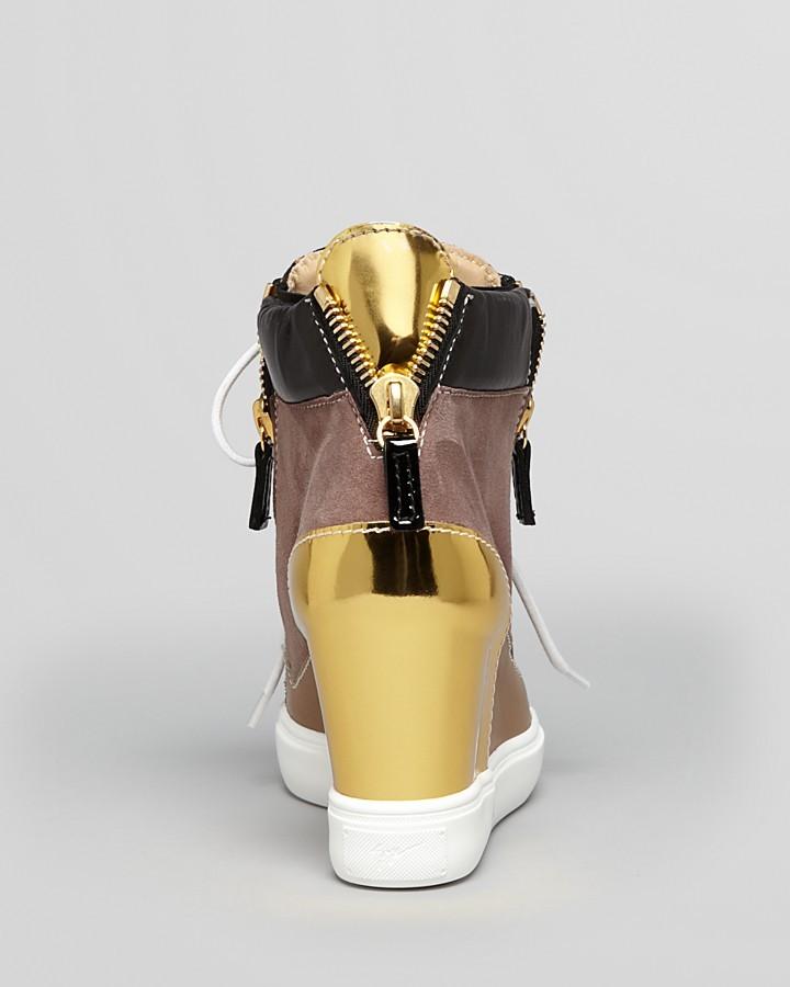 Giuseppe Zanotti Wedge Sneakers - Lorenz
