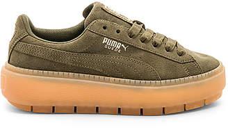Puma Suede Platform Rugged Sneaker