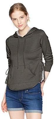 Self Esteem Women's Long Sleeve Sweatshirt with Side Lace Ups