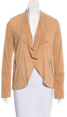 Soia & Kyo Suede Button-Up Jacket w/ Tags