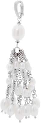 Honora Cultured Pearl Tassel Enhancer Sterling Silver