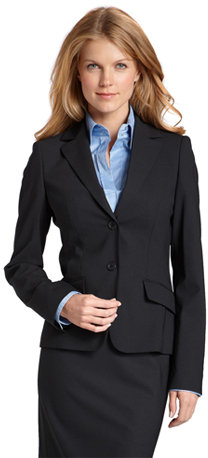 Slim Fit Single Breasted 2-Button Blazer by BOSS Black