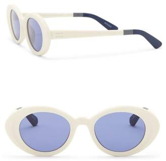 Toms Rossio 48mm Oval Sunglasses