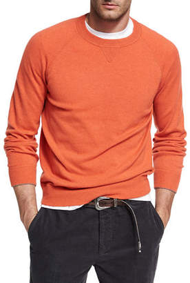 Brunello Cucinelli Athletic Crewneck Sweater $995 thestylecure.com